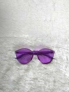 Kacamata jelly purple