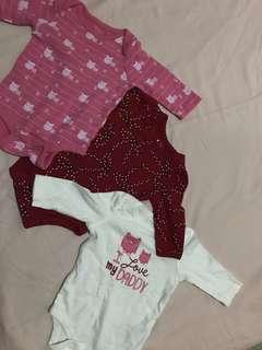 Baby Gap Onesies Bundle of 3