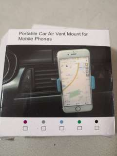 Mobile phone holder for Car air vent