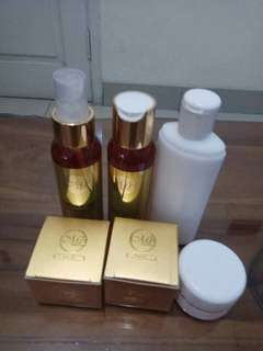 Make up remover , facial wash, hand body, acne gel, sunscrean gel, peeling