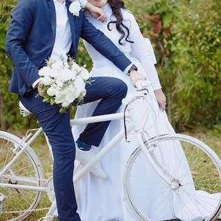 White Wedding Skirt (see description)