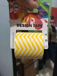 design tape kuning untuk tembok dll