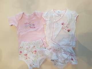 Baby girl newborn set