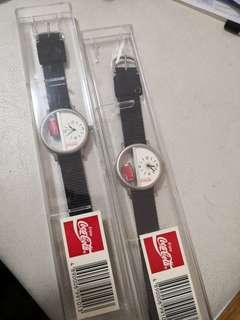 可口可樂coke cola 絶版 限量手錶