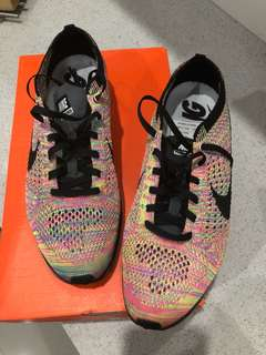 Flyknit racer multi colour 3.0