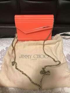 90%new jimmy choo candy bag