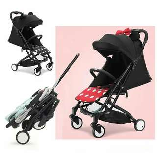 Mickey mouse and monnaie mouse stroller