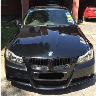 BMW E90 stolen dicuri