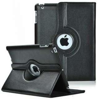 Case Cover Apple iPad 2 3 4 360 Degree Rotating Black