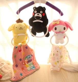 Sanrio and Disney Characters Towel Ring