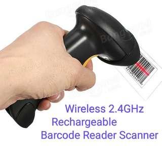 2.4GHz Barcode reader scanner Wireless USB Laser Handheld Scanner bar code Reader Gun model ESky CT007