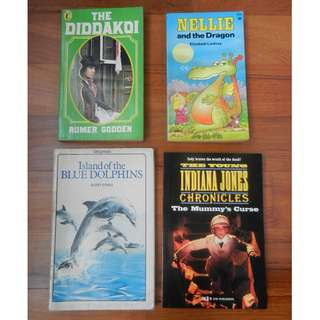 The Daddakoi / Nellie and the Dragon / Island of the Blue Doiphins / The Young Indiana Jones Chronicles: The Mummy's Curse