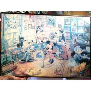 Mickey Mouse Jigsaw Puzzle (Frame)