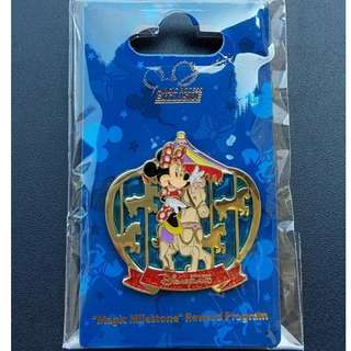 Disney Pin 迪士尼「獎賞行」奇妙處處通 Minnie 米妮 徽章