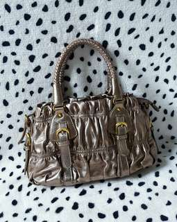leather bag from italy