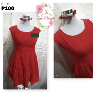 Red Dress (Ukay Item)