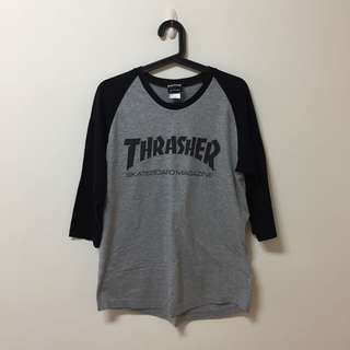 Thrasher 棒球上衣