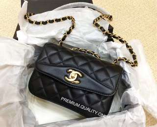 Chanel Coco Vintage Flap Bag- medium