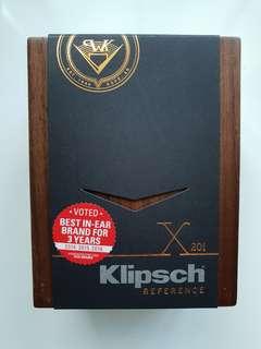 Klipsch X20i Earphones Brand New!