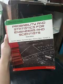 Probability and Statistics for Engineers and Scientists (Ninth Edition)