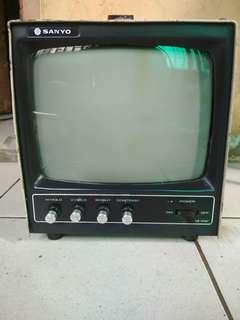 Jual tv jadul SANYO antik