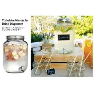 『4mm玻璃加厚更安全』安全Korea飲料果汁桶 #A082