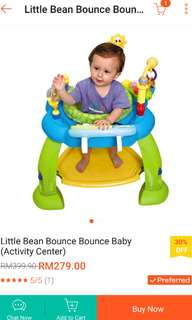 Clearance -rm150. Little bean jumping gym