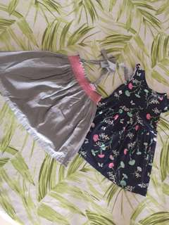 2 beautiful girls dresses gingersnap and Carters