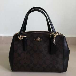 Coach Leather Handbag (Price in description)
