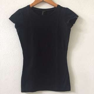 Topshop Black Shirt