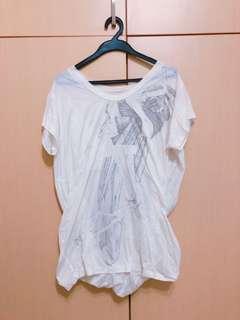 🚚 JNBY白色造型上衣
