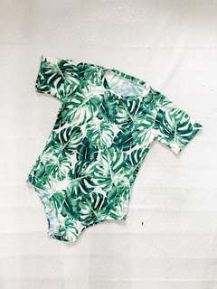 Printed Body Suit