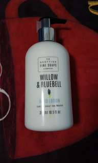 [BN] Hand Lotion/Moisturizer - Willow & Bluebell