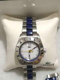 Authentic Lacoste Watch