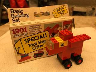 LEGO VINTAGE BASIC BUILDING SET 1984