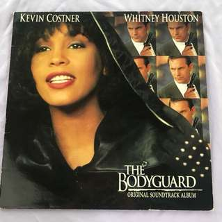 Vinyl Record - Whitney Houston The Bodyguard OST LP