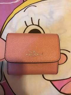 Coach card holder/coin purse