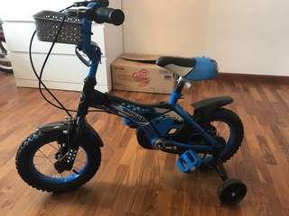 """Preloved 14"""" Kids Bike"""