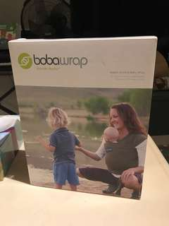 Bobawrap baby carrier award winning almost brand new