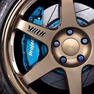 18inch SPORT RIM VOLK RACING TE37 RAYS BMW F10 F30 E46 E90 E36