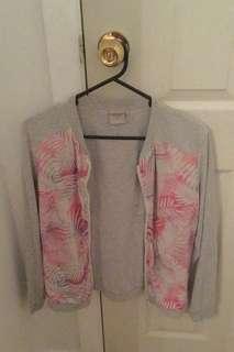 Pink and grey jacket
