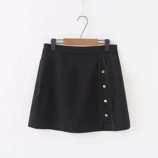 (XL~3XL) 2018 Summer New Korean A Skirt Skirt