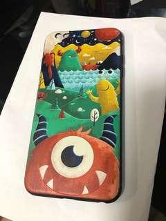 (包郵)iPhone 6 Q版怪獸電話殼