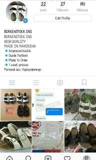 BIRKENSTOCK INS. (Follow me on ig)