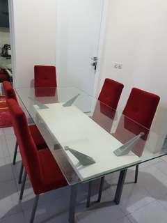 Cellini dining table murah