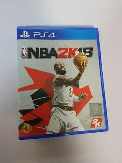 NBA 2K18 complete version, R3 for PS4