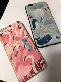 (包郵)iPhone 6 Plus 動物電話殼 x2