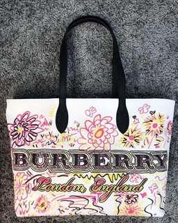 Burberry雙面購物袋