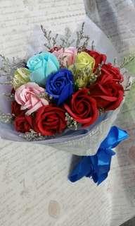 18支香皂玫瑰花