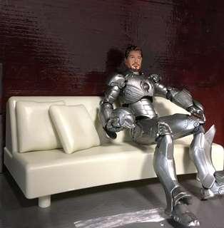 Tony Stark sofa